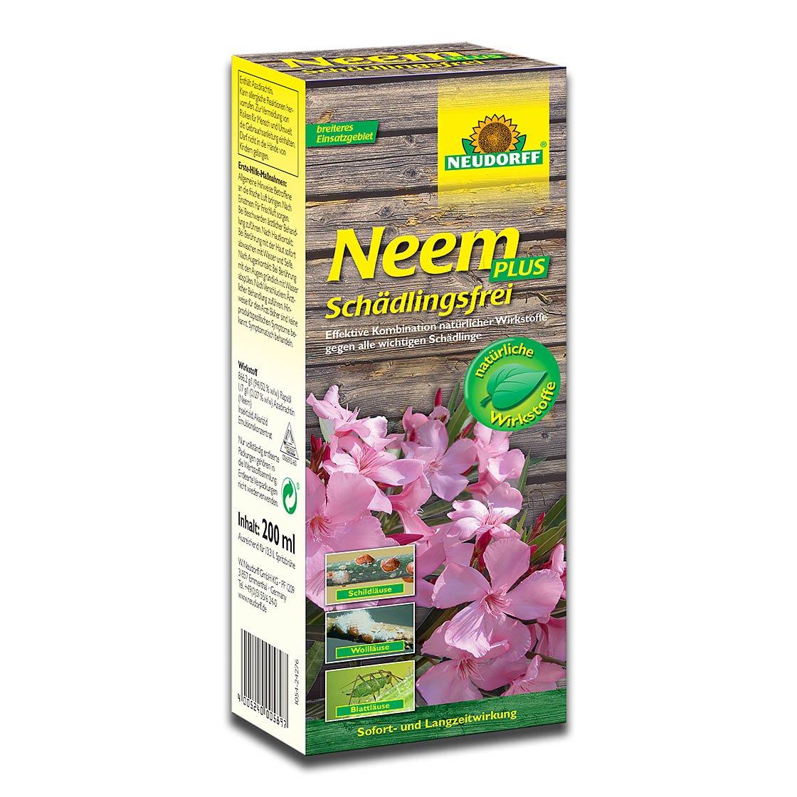 neudorff neem plus sch dlingsfrei 200ml pflanzenschutzmittel wolll use bek mpfen mittel. Black Bedroom Furniture Sets. Home Design Ideas