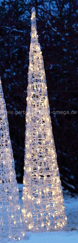led acryl pyramide gartenpyramiden led weihnachtsau enbeleuchtung kristallpyramiden. Black Bedroom Furniture Sets. Home Design Ideas