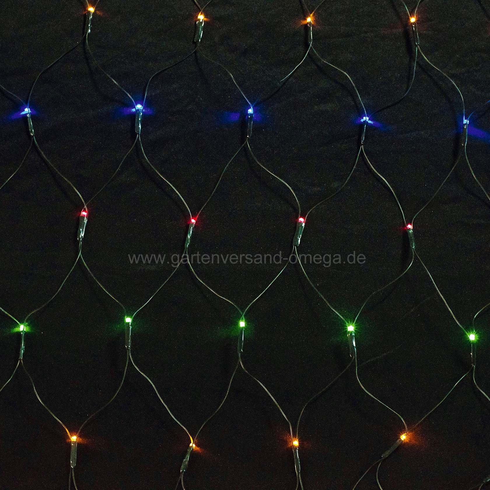 led lichtnetz mit umschaltbarer farbe weihnachtsbeleuchtung farbe einstellbar mehrfarbiges. Black Bedroom Furniture Sets. Home Design Ideas