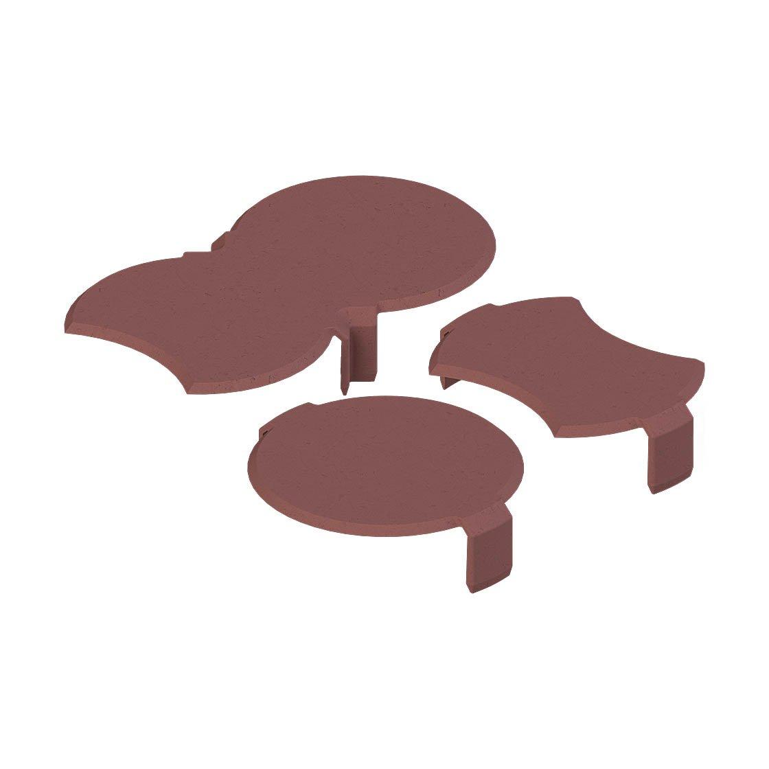 bio rasenkante schneckenbremse ziegelrot rasenkantensteine vor berkriechung durch schnecken. Black Bedroom Furniture Sets. Home Design Ideas