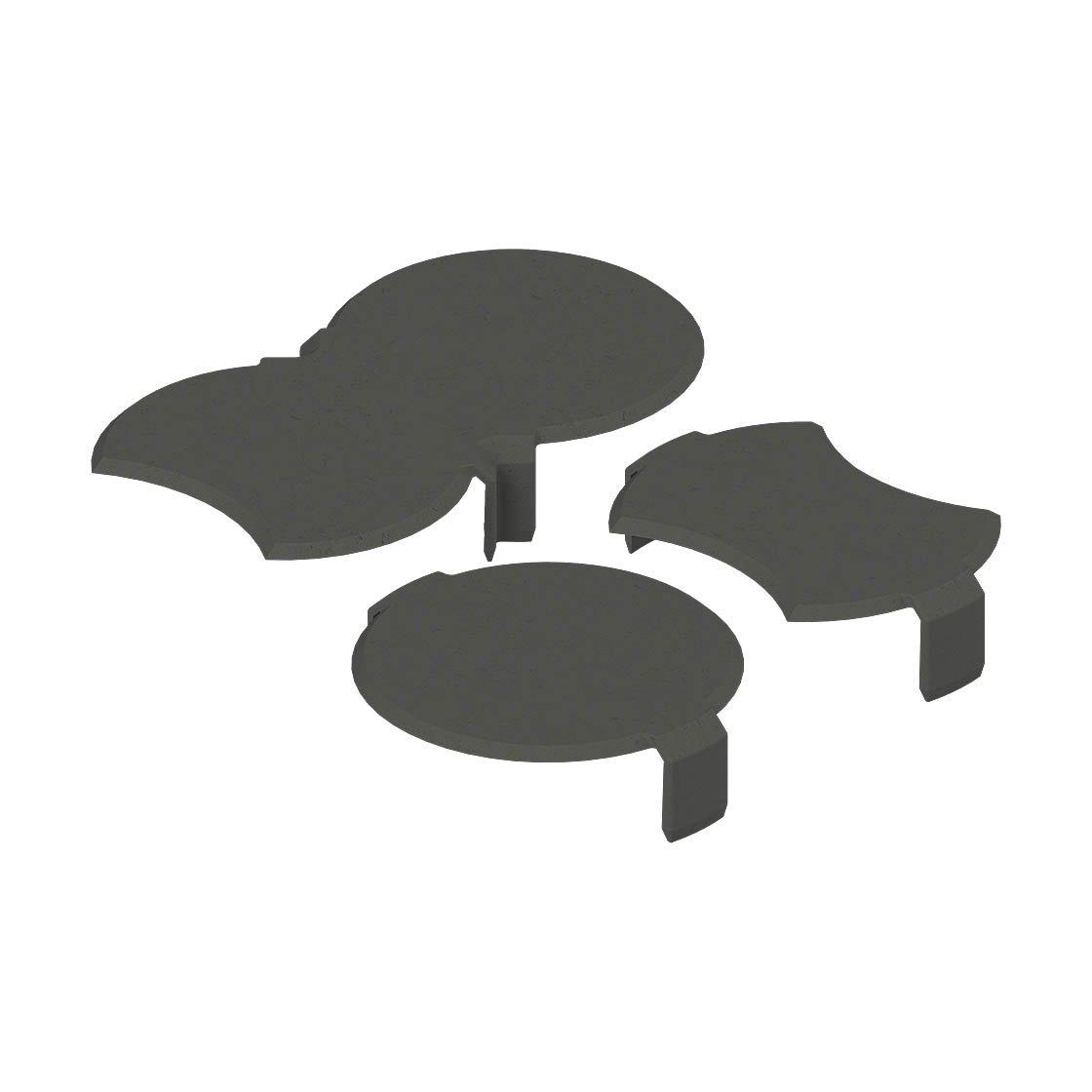 bio rasenkante schneckenbremse anthrazit zubeh r. Black Bedroom Furniture Sets. Home Design Ideas