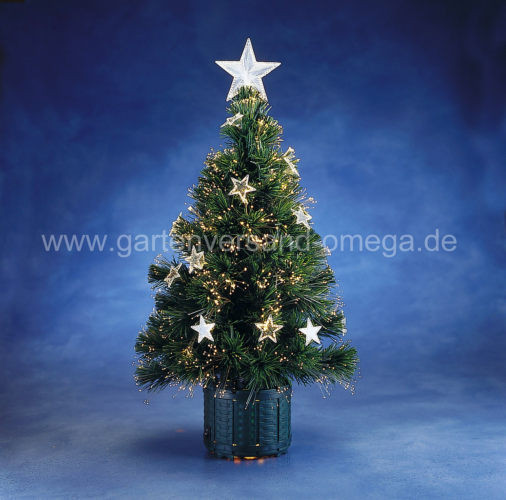 fiberoptik weihnachtsbaum mini weihnachtsbaum. Black Bedroom Furniture Sets. Home Design Ideas