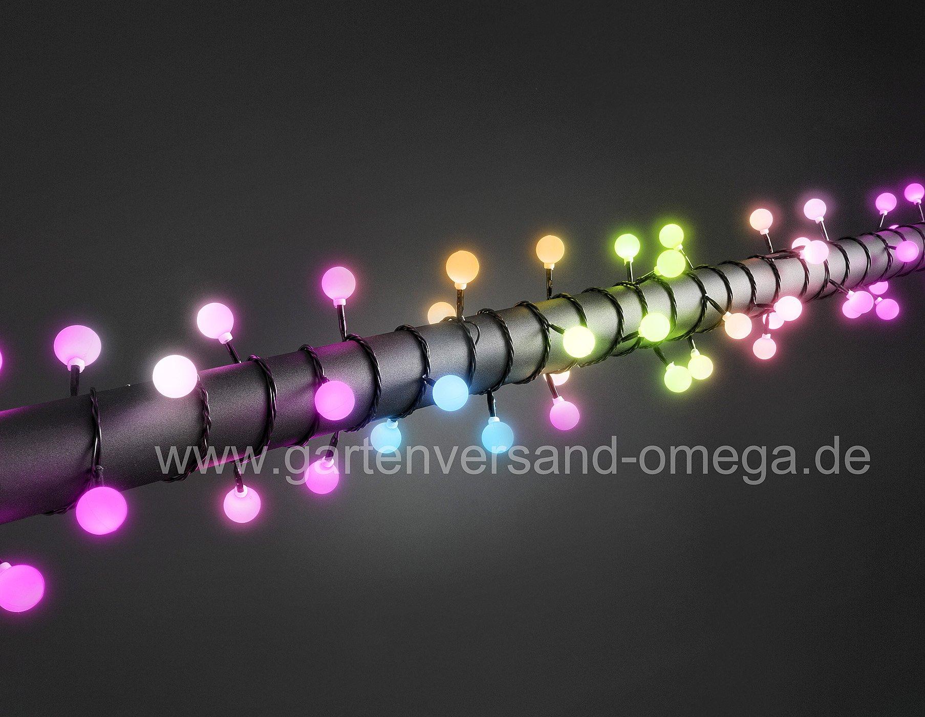 rgb farbwechsel lichterkette mit gro en dioden bunte lichterkette farbwechsellichterkette. Black Bedroom Furniture Sets. Home Design Ideas