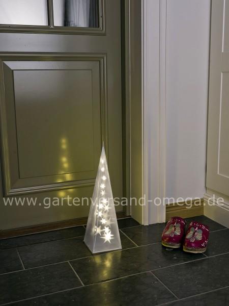 LED Kunststoffpyramide