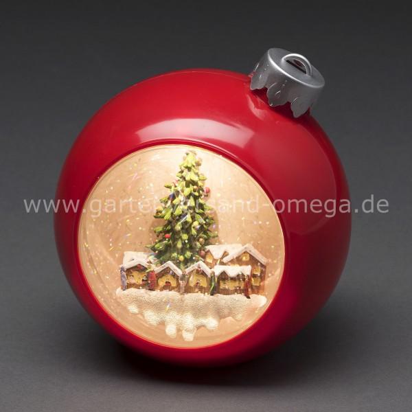 LED-Weihnachtskugel Weihnachtsmarkt