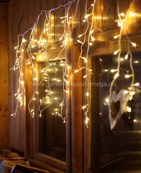 Led Fenster Weihnachtsbeleuchtung.Led Eislichtvorhang