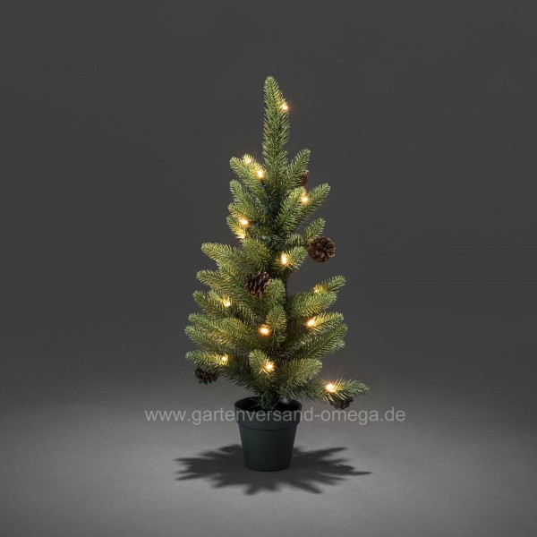 batteriebetriebener led weihnachtsbaum 60cm f r au en. Black Bedroom Furniture Sets. Home Design Ideas