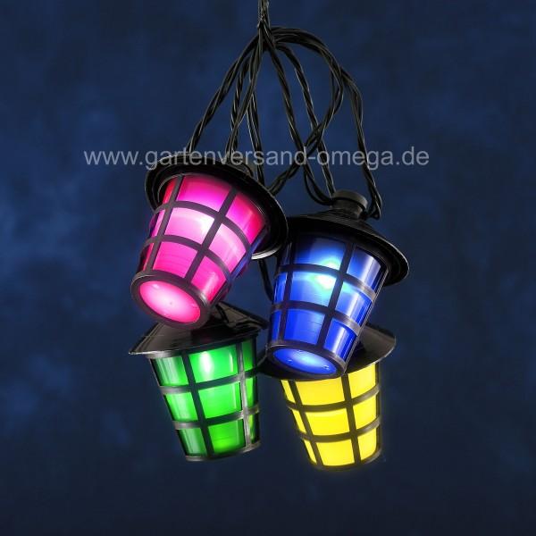 LED-Partybeleuchtung Lampion Lichterkette