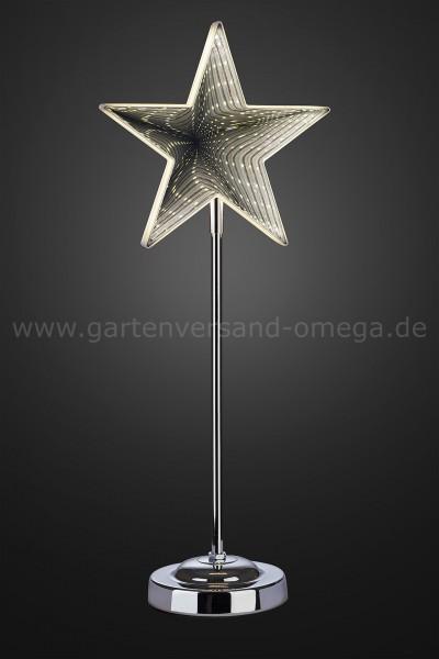 3D-Infinity Stern mit Standfuß 45cm