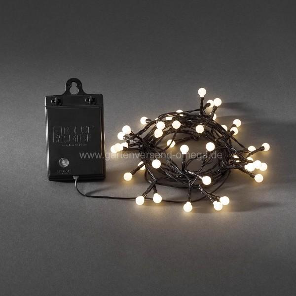 LED Lichterkette Batteriebetrieben für Aussen Warm-Weiß