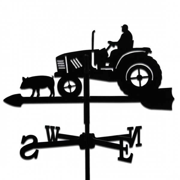 Wetterfahne Traktor Klein