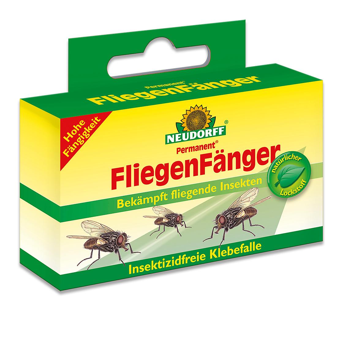 neudorff permanent fliegenf nger fliegenstreifen insekten bek mpfen fliegen bek mpfen. Black Bedroom Furniture Sets. Home Design Ideas