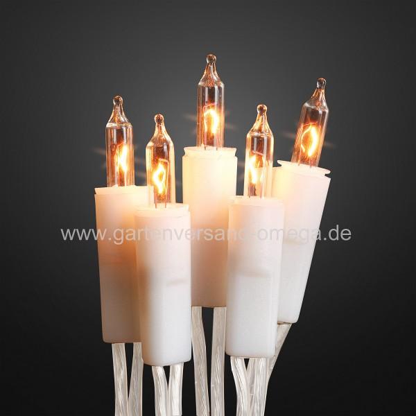 Mini-Lichterkette für Innen - Weißes Kabel