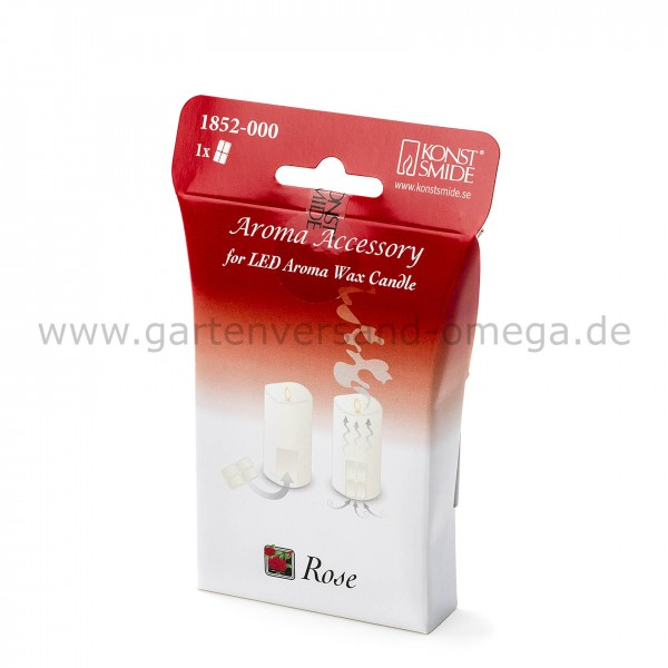 Duftpad Rose für LED-Duftkerze