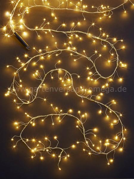 LED Cluster-Lichterkette Tauperlen