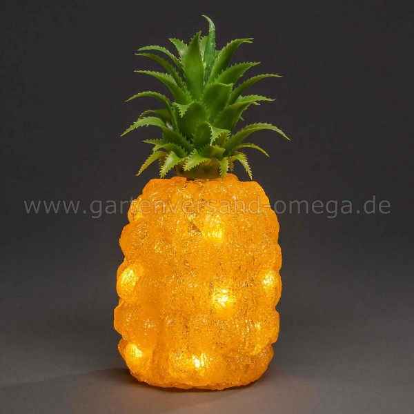 Partybeleuchtung LED-Acryl-Ananas