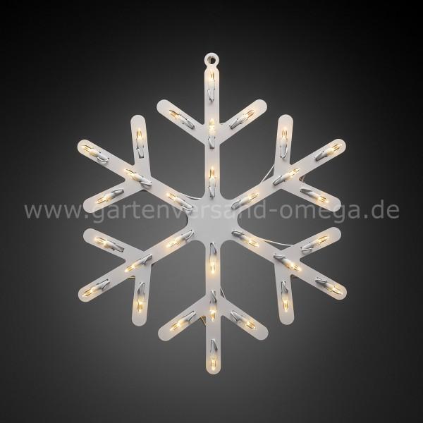 LED Fenstersilhouette Schneeflocke