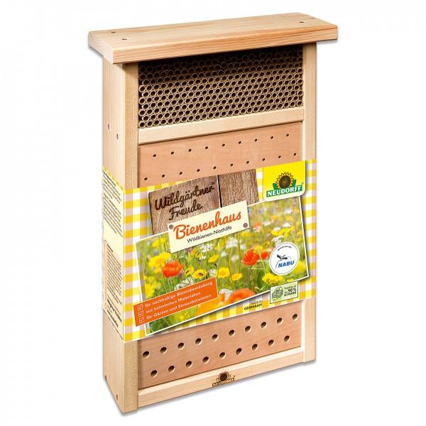 Neudorff WildgärtnerFreude Bienenhaus - Nisthilfe für Wildbienen