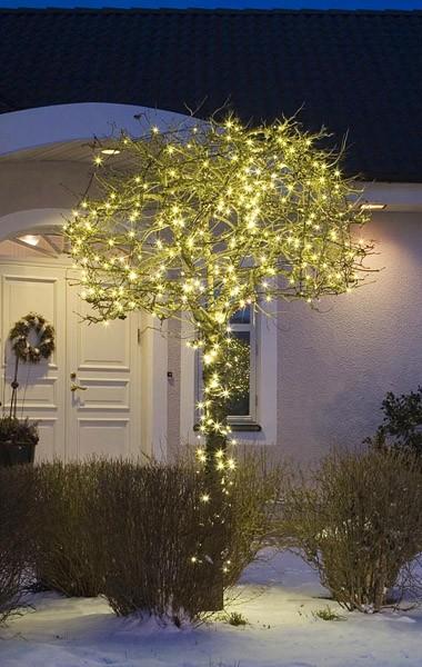 Mikro-LED-Lichterkette Warm-Weiß