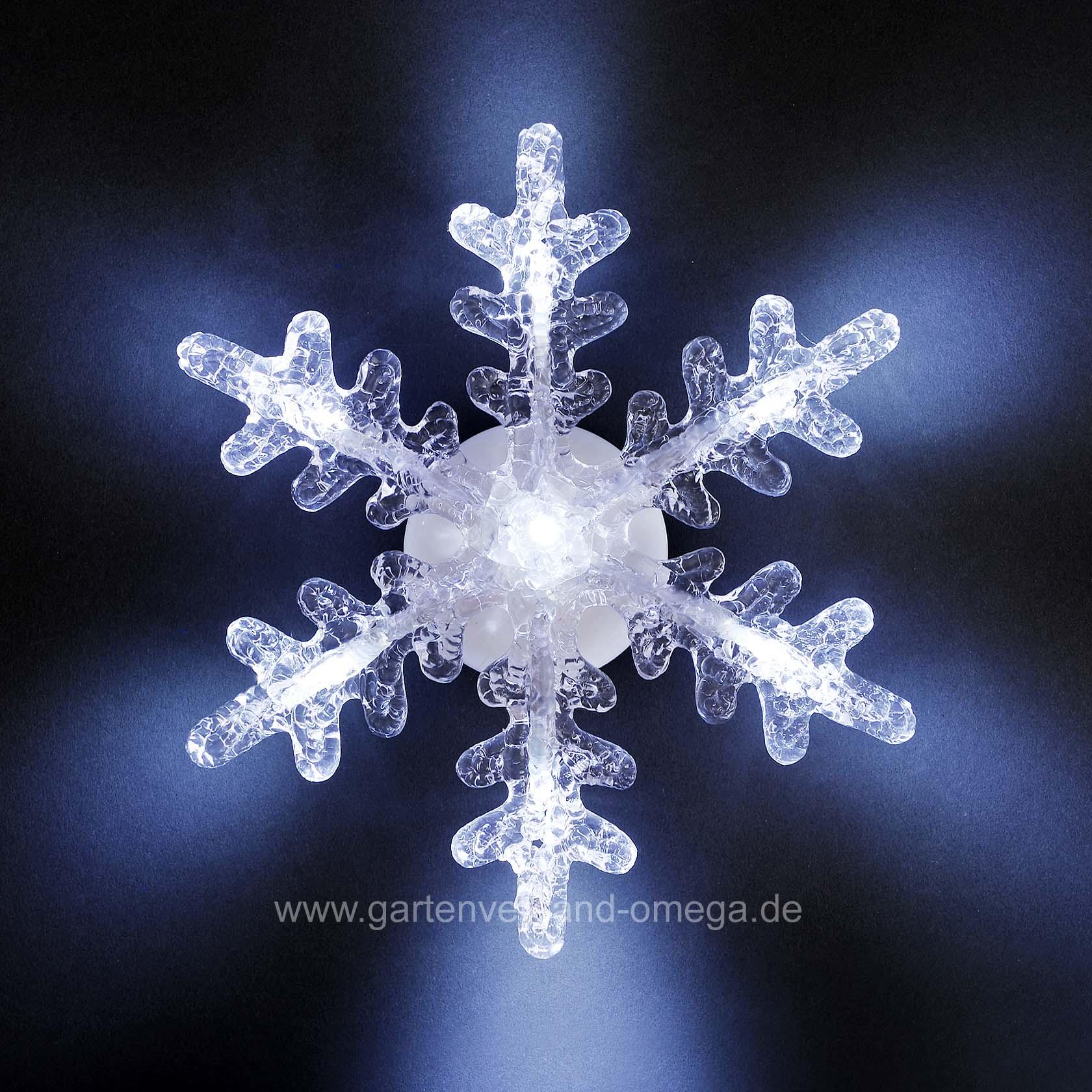 Led schneeflocke fensterdekoration mit saughalter batteriebetriebene weihnachtsbeleuchtung - Led weihnachtsbeleuchtung fenster innen ...