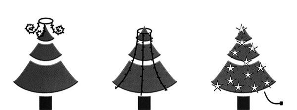 Anwendung-LED-Baummantel-Lichterkette