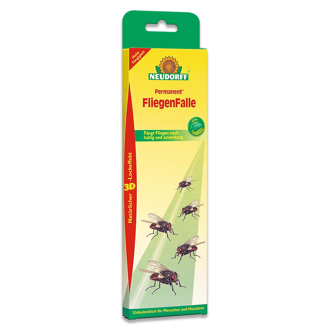 Neudorff permanent fliegenfalle fliegenmittel for Mittel gegen fliegen im blumentopf