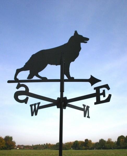 Wetterfahne Schäferhund