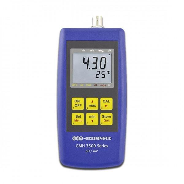 Greisinger pH-/Redox-/Temperatur-Messgerät GMH3531