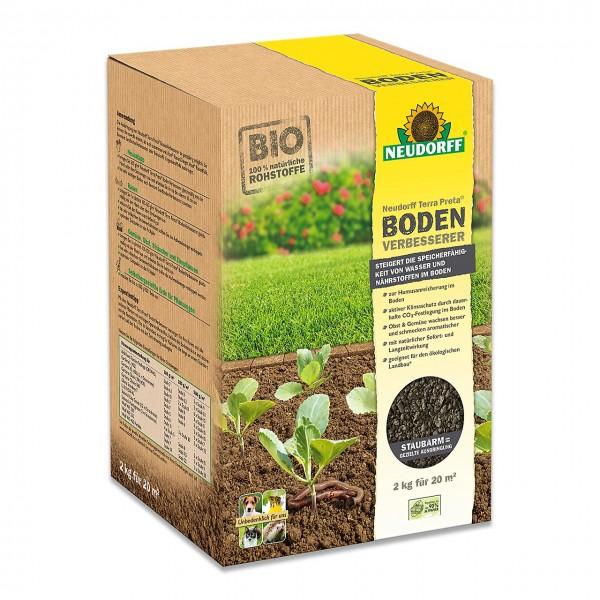Neudorff Terra Preta BodenVerbesserer 2kg - Gartenerde verbessern