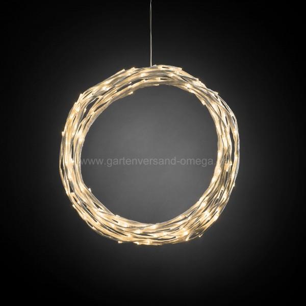 LED-Dekoration als Kranz oder Girlande