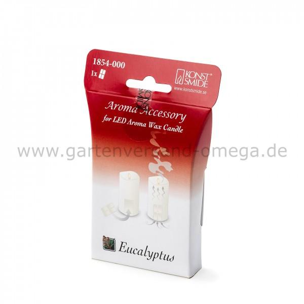 Duftpad Eukalyptus für LED-Duftkerze