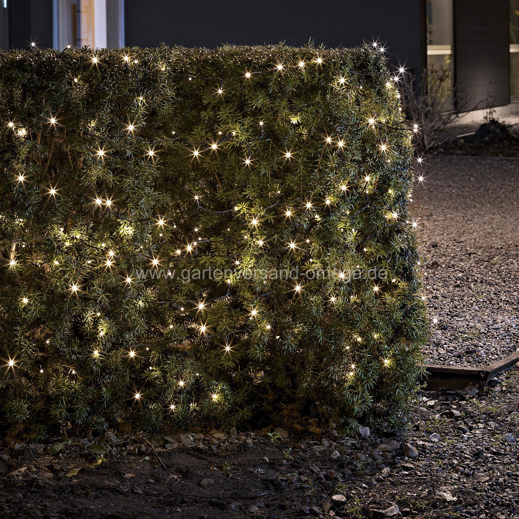 Weihnachtsbeleuchtung Für Balkon Aussen.Batteriebetriebene Led Lichterkette Für Aussen Warm Weiß