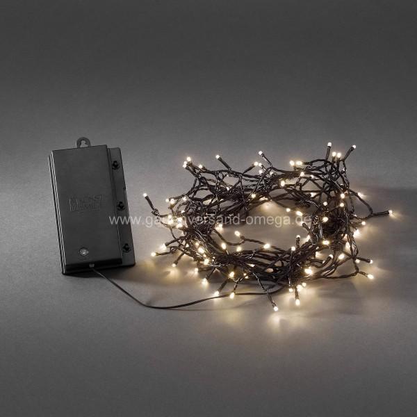 Weihnachtsbeleuchtung Led Ohne Kabel.Batteriebetriebene Led Lichterkette Für Aussen Warm Weiß