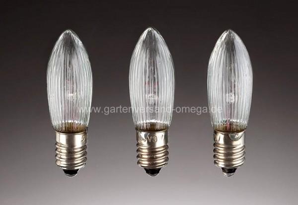 Ersatzbirnchen für Lichterkette mit Wachstropfen