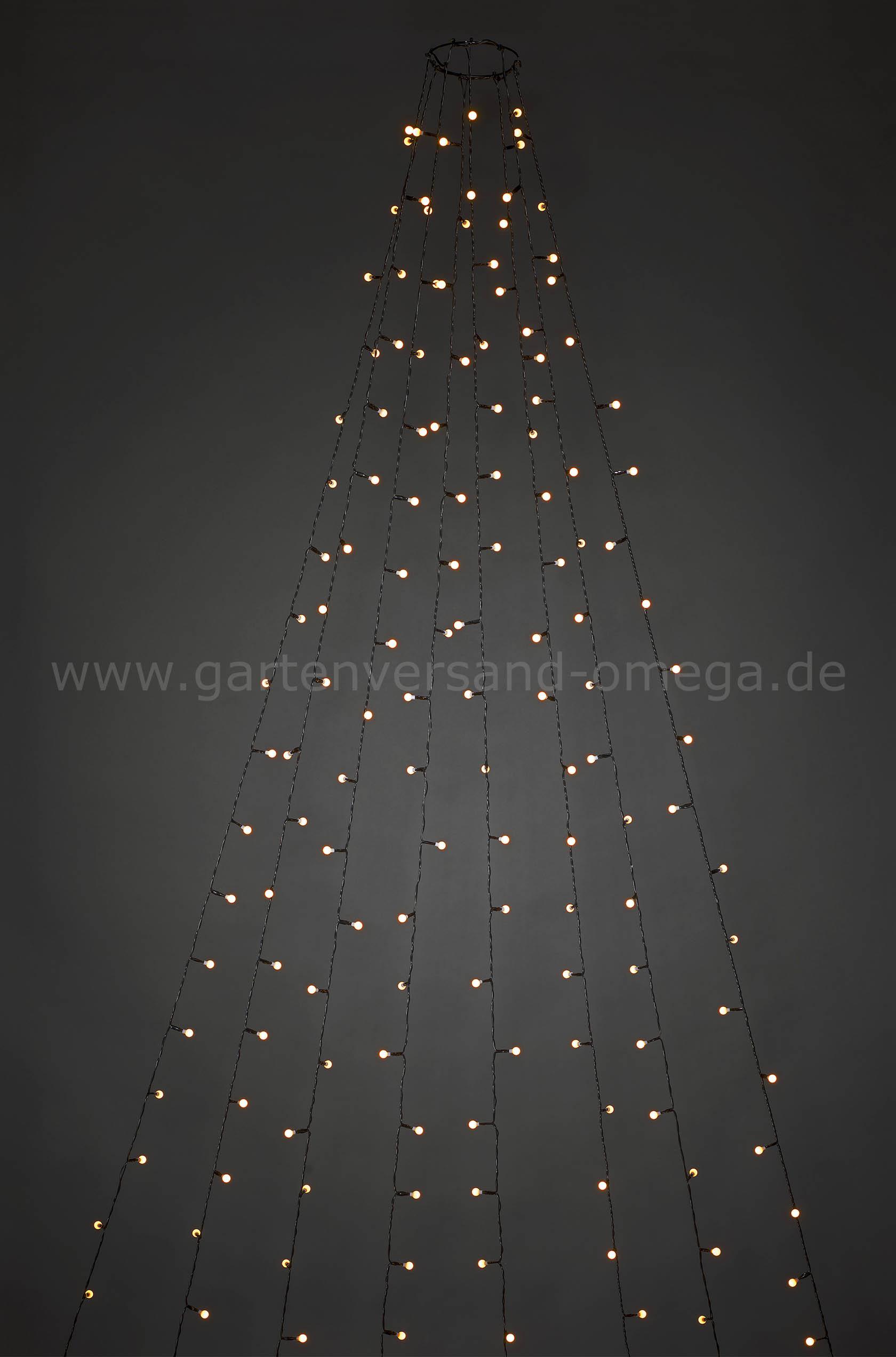 Weihnachtsbeleuchtung Außen Zug.Led Baummantel Lichterkette Für Außen Mit Globes
