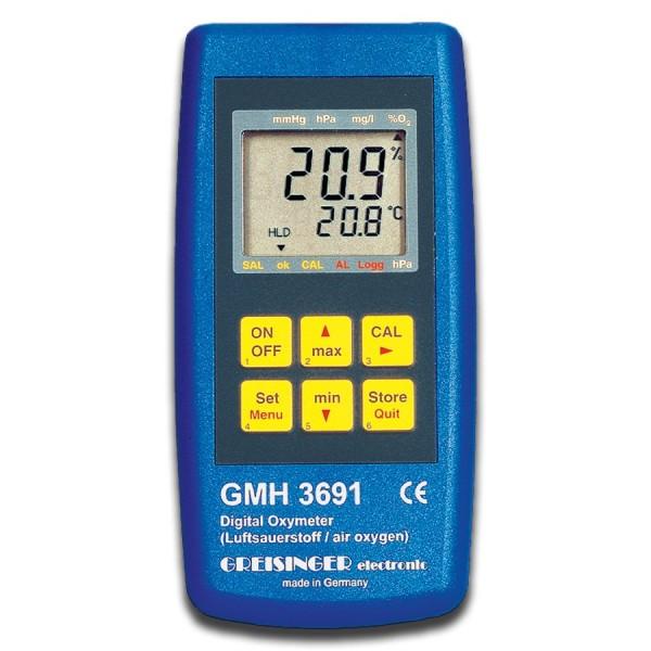 Greisinger Luftsauerstoff-Messgerät GMH3692