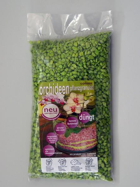 Colomi Orchideengranulat Apfelgrün Fein