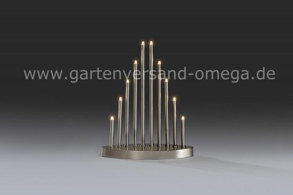 LED Metallleuchter