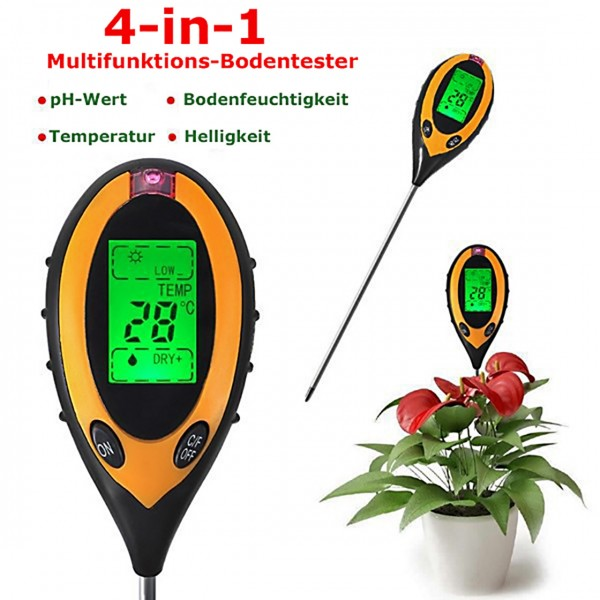 4-in-1 Multifunktions-Bodentester