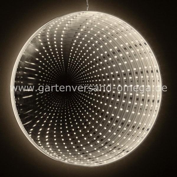 LED-Spiegel mit Infinity-Effekt