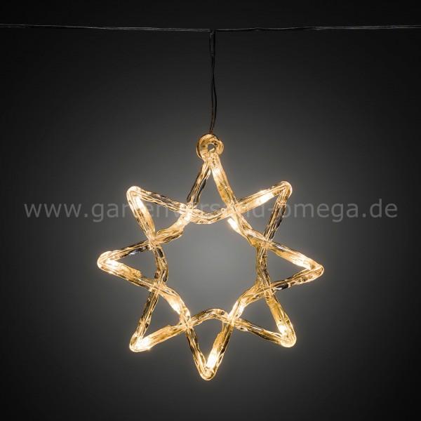 LED Acrylmotiv-Lichtervorhang Stern
