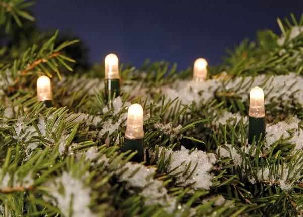Weihnachtliche LED-Lichterkette
