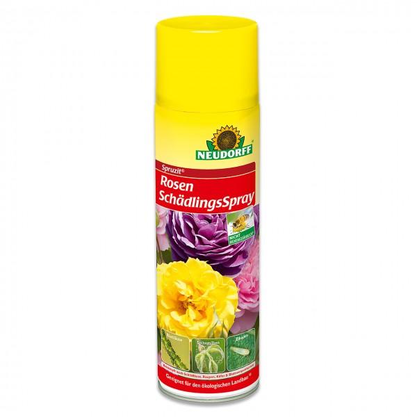 Neudorff Spruzit RosenSchädlingsSpray - zur Bekämpfung von saugenden Insekten an Rosen und anderen Zierpflanzen