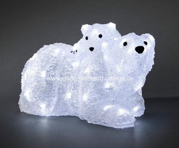 LED Acrylfigur Eisbären