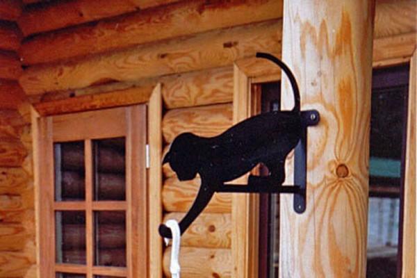 Wandhalter Katze