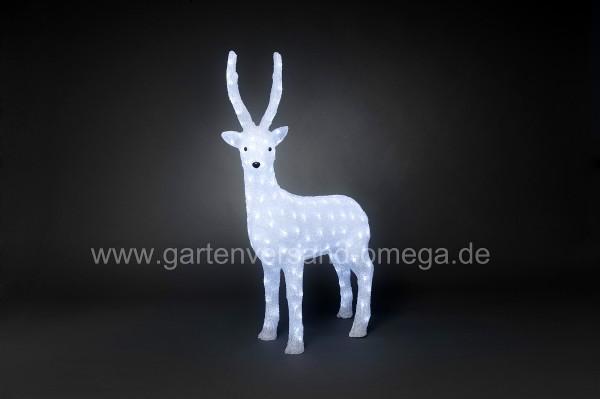 LED-Weihnachtsaußenfigur Hirsch Groß