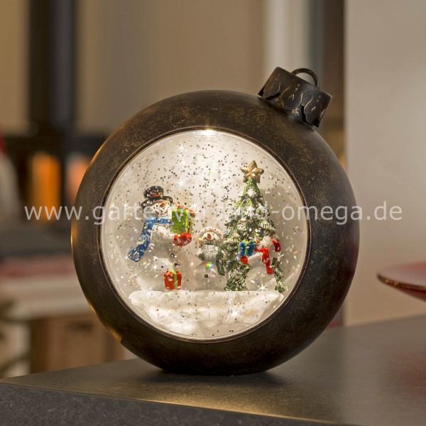 LED-Weihnachtskugel Schneemänner