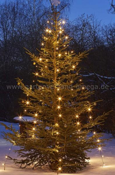 LED Quick Lights-Lichterkette für Außen