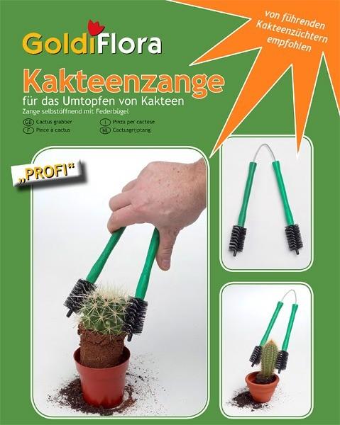 GoldiFlora Kakteenzange