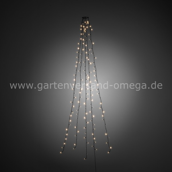 LED Baummantel-Lichterkette Warm-Weiß